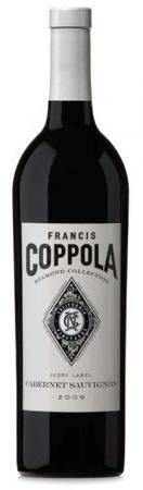 Francis Coppola Cabernet Sauvignon Diamond Collection Ivory Labe